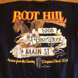 Vintage Boot Hill Saloon Bike Week 1998